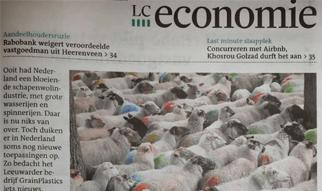 Leeuwarder Courant: Artikel drainage met wol