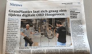 Open Bedrijvendag Hoogeveen 2020