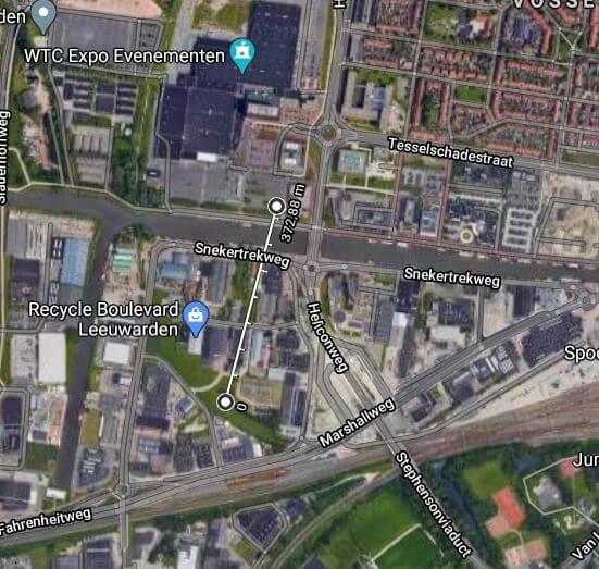 Kaart van het project